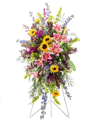 Legacy Spray Flower Arrangement