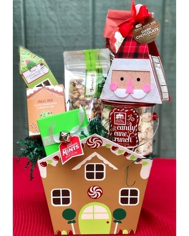 Gingerbread Lane Gift Basket