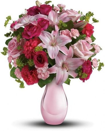 Donato's Perfect Blush Bouquet Flower Arrangement