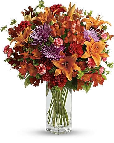 Donato's Fall Brights Bouquet Flower Arrangement