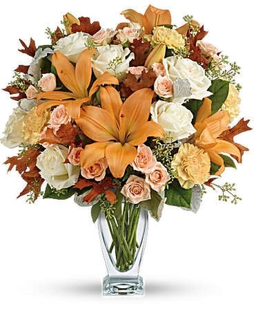 Seasonal Sophistication Bouquet Flower Arrangement