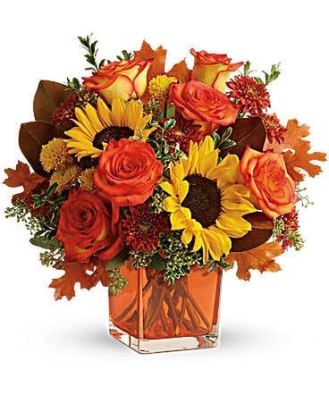 Donato's Hello Autumn Bouquet Flower Arrangement