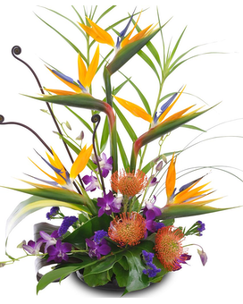 Tropical Bouquet Flower Arrangement