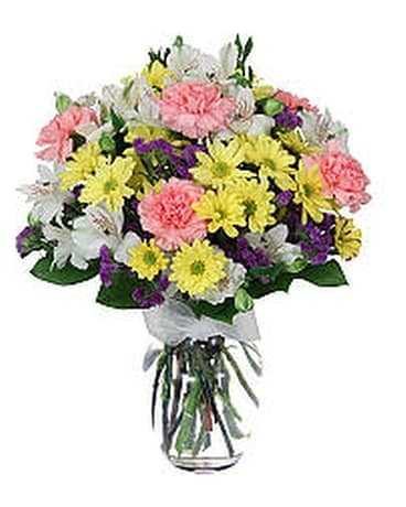 Sunshine and Joy Flower Arrangement