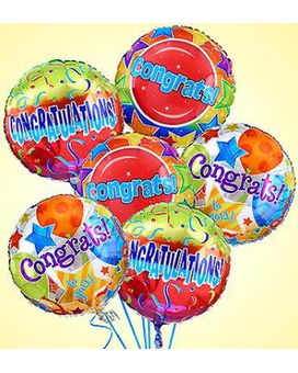 Congratulations Balloon Bouquet Bouquet