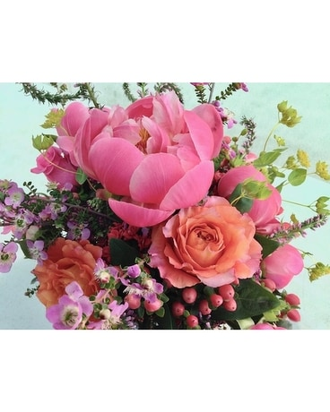 Arrangement with peonies Flower Arrangement