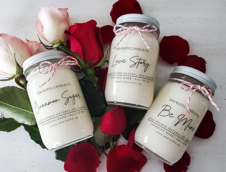 Valentine Soy Candle