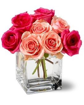 Teleflora's Party in Pink Flower Arrangement