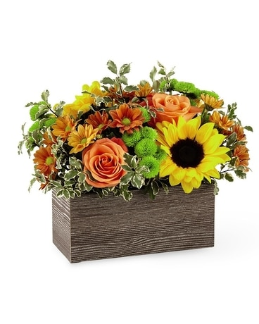 Happy Harvest Garden bouquet