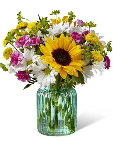 Sunlit Meadows bouquet Flower Arrangement