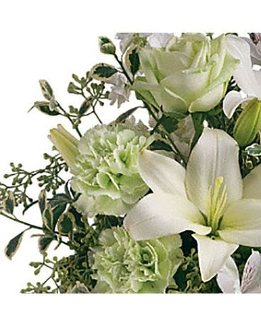White Tones Designer's Choice Flower Arrangement