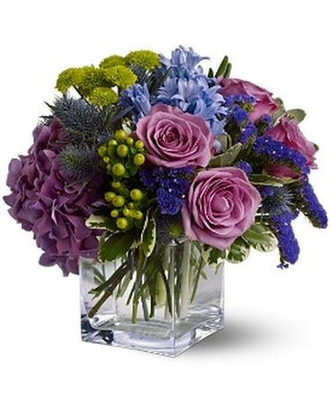 Teleflora's Best of Times - by Bells and Blooms Flower Arrangement
