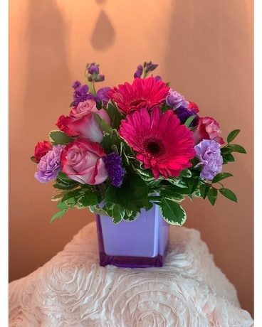 Purple Punch Flower Arrangement