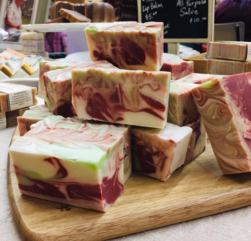 locally made cold processed soap