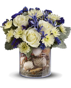 Teleflora's Summertime Surf Flower Arrangement