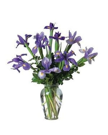 Iris Bouquet Custom product