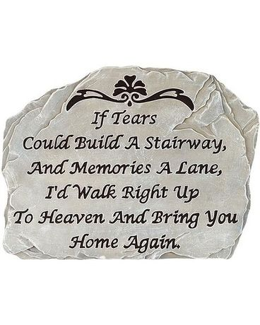 If Tears Could Build a Stairway- memory stone Custom product