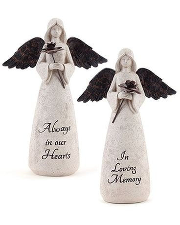 Always In Our Hearts Sympathy Angel Custom product
