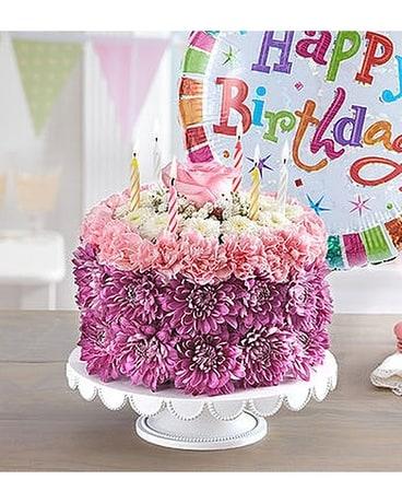 Birthday Wishes Flower Cake Pastel In El Cajon CA