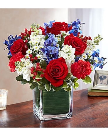 Healing tears red white blue 4999 6999 in el cajon ca healing tears red white blue 4999 6999 flower arrangement mightylinksfo
