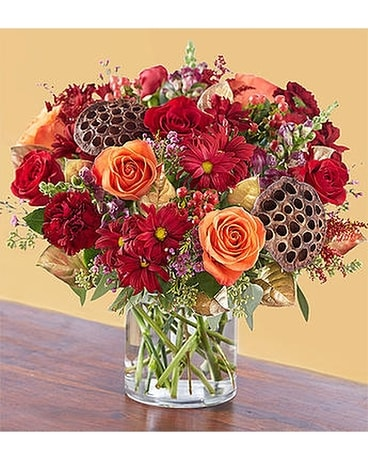 Vintage Autumn Blooms $59.99-79.99 Flower Arrangement