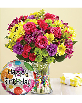 It''s Your Day Bouquet Happy Birthday $39.99-59.99