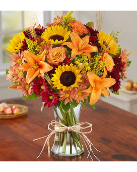 Fields of Europe for Fall $39.99-59.99 Flower Arrangement