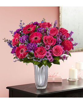 Because You're Mine $79.99-99.99 Flower Arrangement