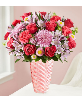 Sweetheart Medley Flower Arrangement