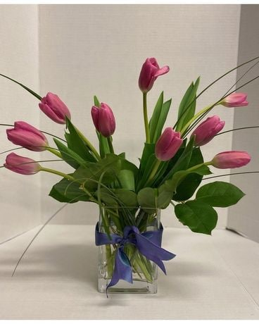 Tulip Time Flower Arrangement