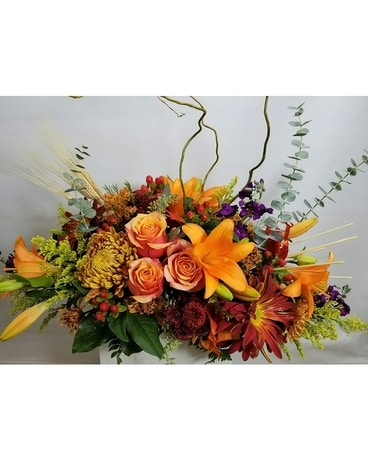 Elegant Gathering Flower Arrangement