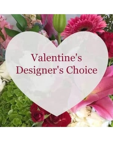 Valentines Day Designers Choice Flower Arrangement