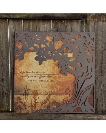 Large Square Tree Art Gifts