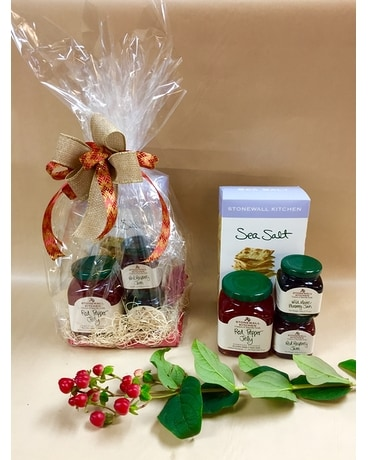 Stonewall kitchen jam and crackers gift basket Gift Basket