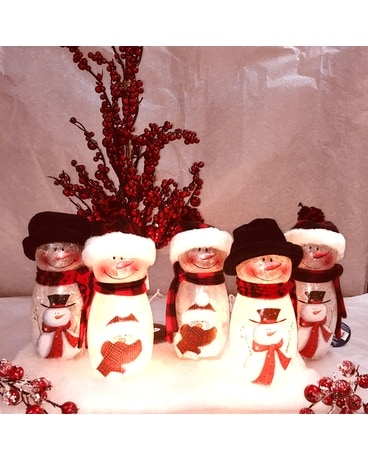 lighted snowmen Gifts