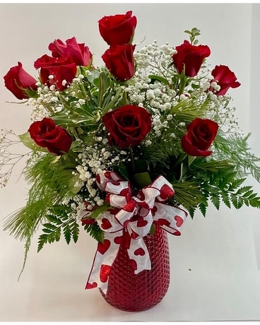 Delightful Dozen Flower Arrangement