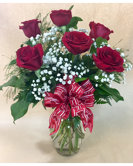 Be My Valentine Flower Arrangement