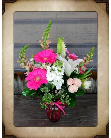 Pink Please Flower Arrangement