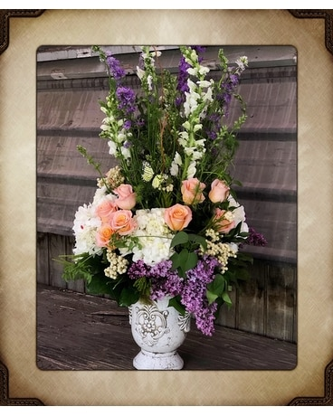 Gracious Victorian Flower Arrangement