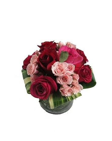 Tickled Pink Flower Arrangement