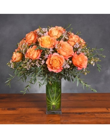 Peachy Keen Flower Arrangement