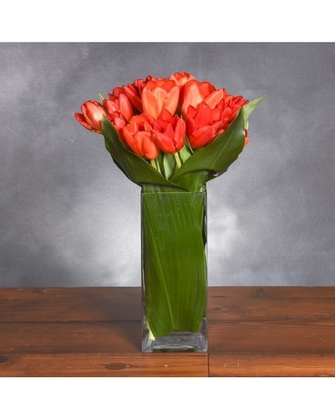 Treasured Tulips Flower Arrangement