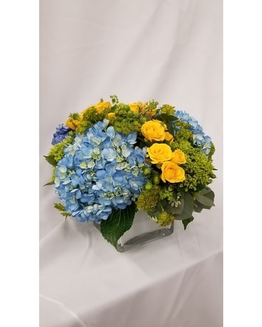 Bouncing Baby Boy Flower Arrangement