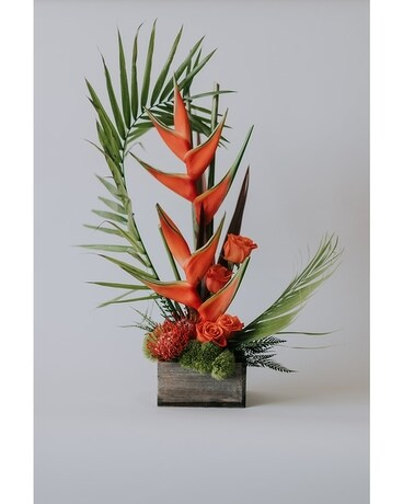 Tropical Zen Flower Arrangement