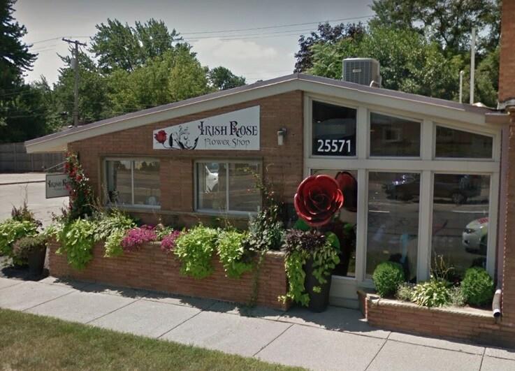Irish Rose Flower Shop
