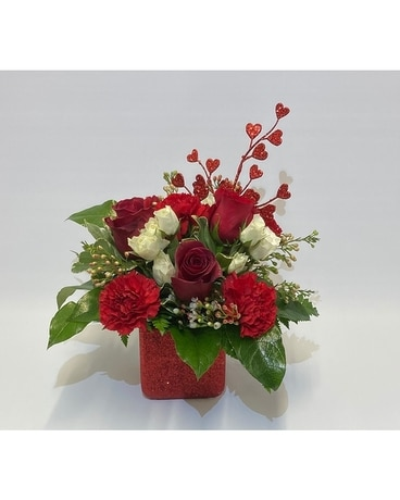 Love Sparkles Flower Arrangement