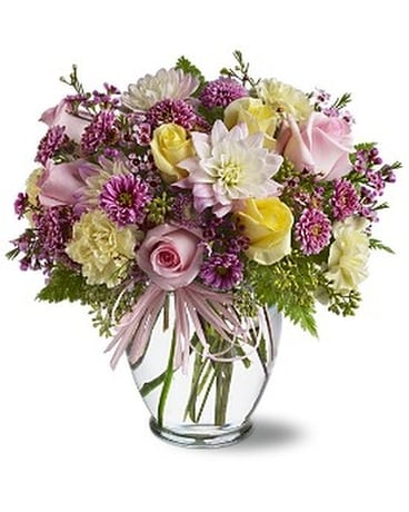 Soft and Beautiful Flower Arrangement