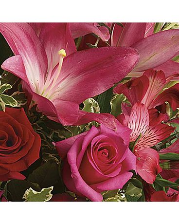 Vibrant Pink Designer's Choice Flower Arrangement