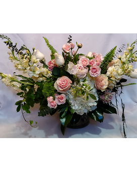 French Country Garden Flower Arrangement
