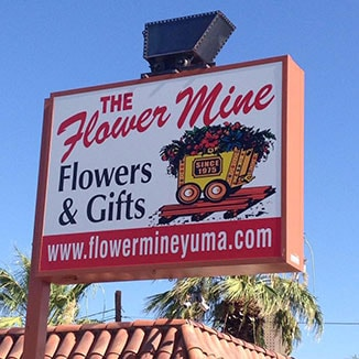 The Flower Mine